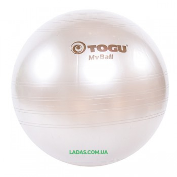 Мяч фитнес TOGU 55 см, MyBall, серебро (Silver)