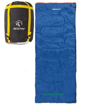 Спальный мешок одеяло REDCAMP RC484/1-14BY (PL, 300г на м2, цвет синий)