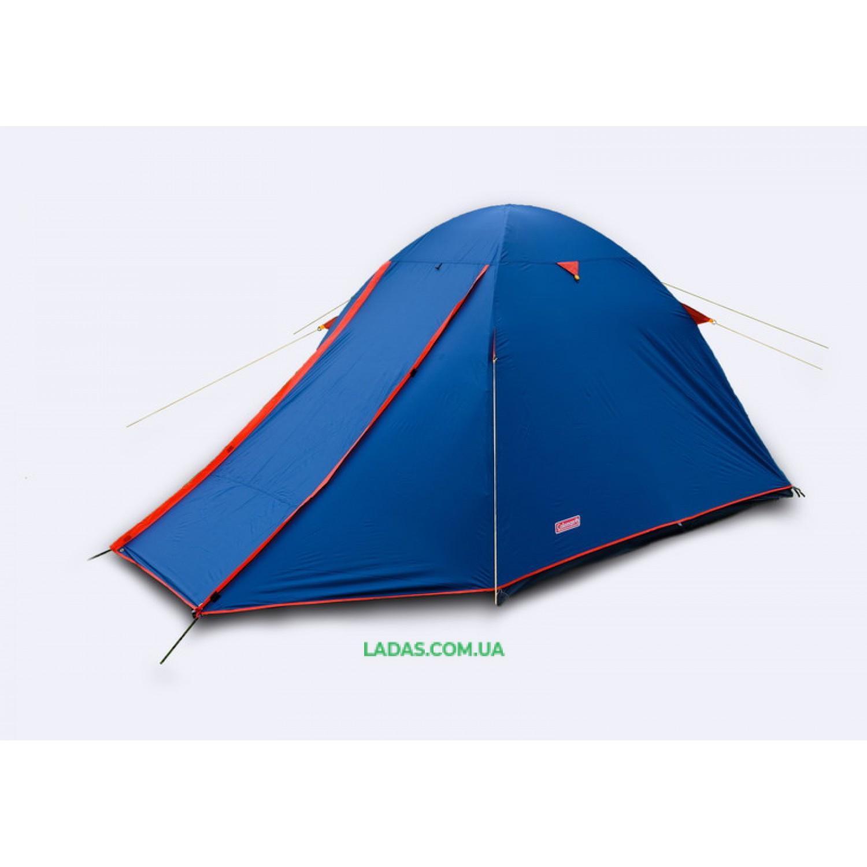 Палатка 3-х местная GreenCamp GC1015 (р-р 315 х 215 х 160 см,вес: 4,2кг.,синий)