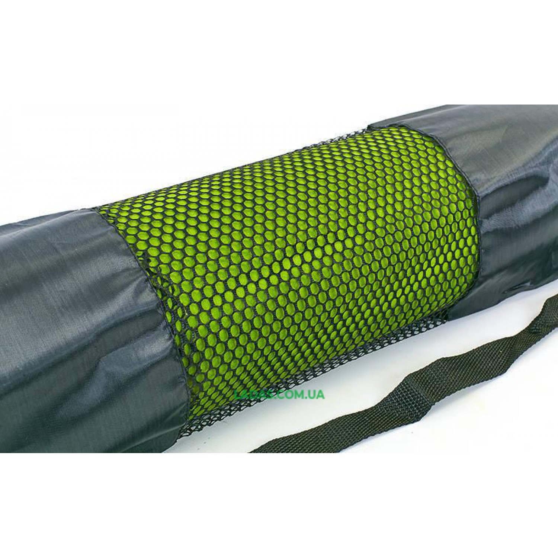 Чехол для йога-коврика (размер 25x66см, сетка, полиэстер)
