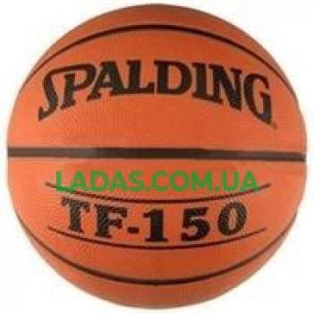 Мяч баскетбольный резиновый №5 Spalding TF-150