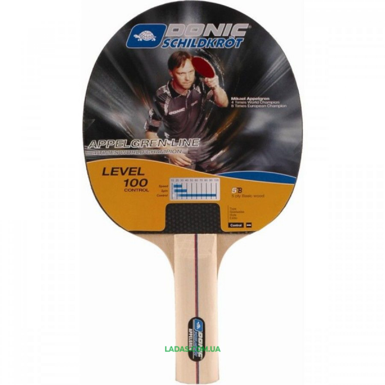 Ракетка для настольного тенниса Donic Appelgren Line 100 Реплика