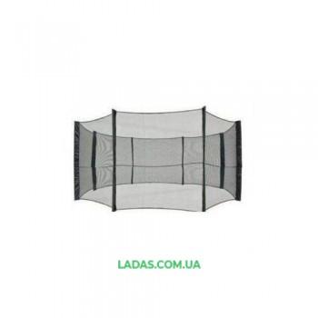 Сетка защитная (ограждение) для батута 8ft (диаметр 2,44 м, на 6 стоек)