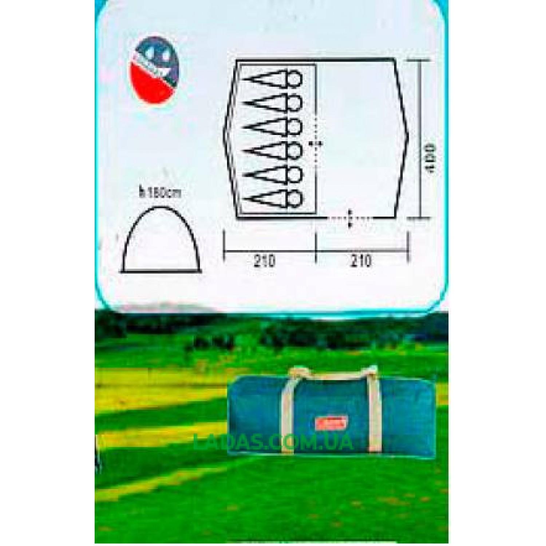 Палатка шестиместная Coleman 2907 (Польша)