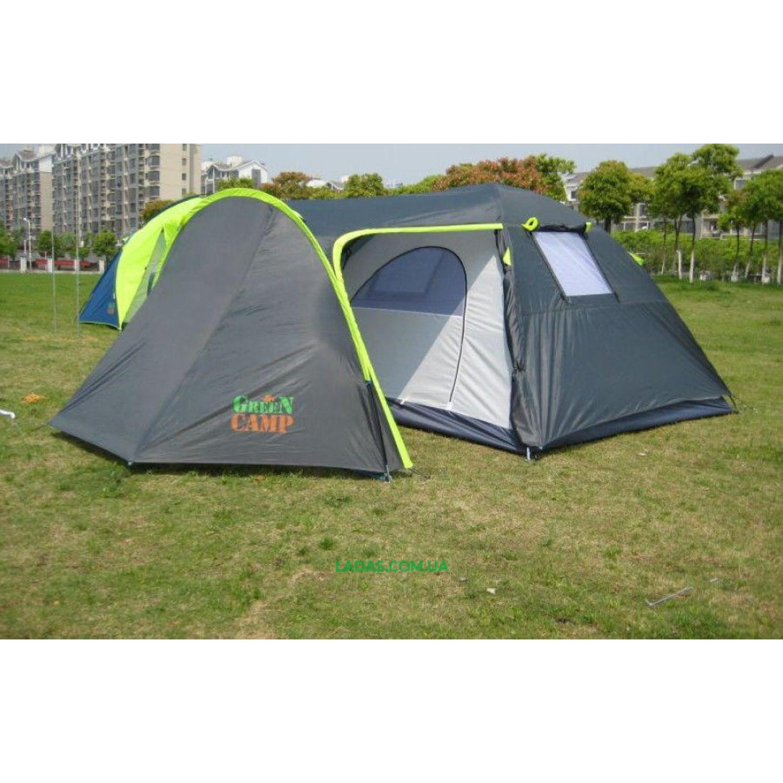 Палатка четырехместная Green Camp GC1009