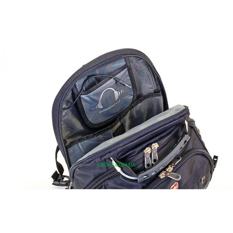 Рюкзак городской VICTOR (PL, р-р 48x31x24см, черный)