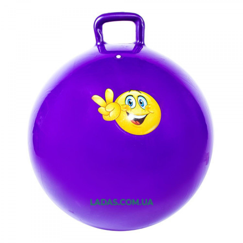Мяч-прыгун с ручками IronMaster (диаметр 65 см)