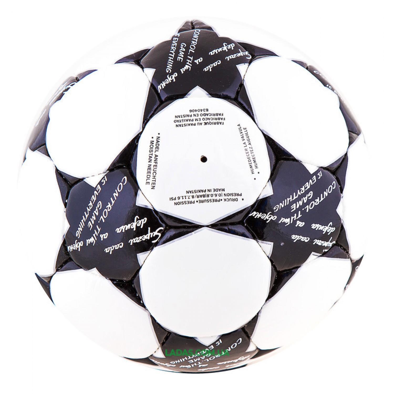 Мяч футбольный DXN Ronex FN2 (сшит вручную, бело-черный)