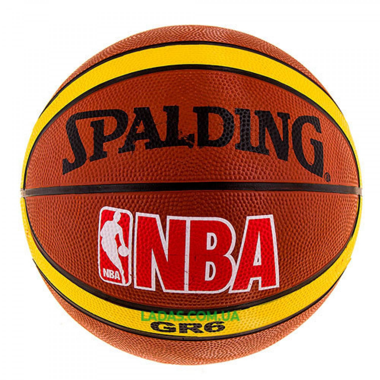 Мяч баскетбольный №6 Spald PVC