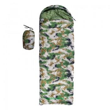 Спальник 250гр/м2, камуфляж зеленый, одеяло