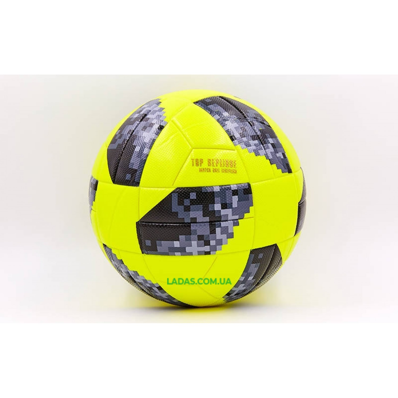 Мяч для футзала №4 Клееный-PVC WORLD CUP 2018