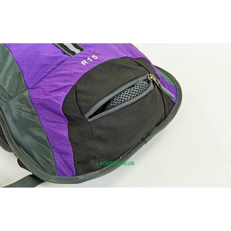 Рюкзак спортивный с жесткой спинкой GA-2082 (нейлон, р-р 31х8х43см)