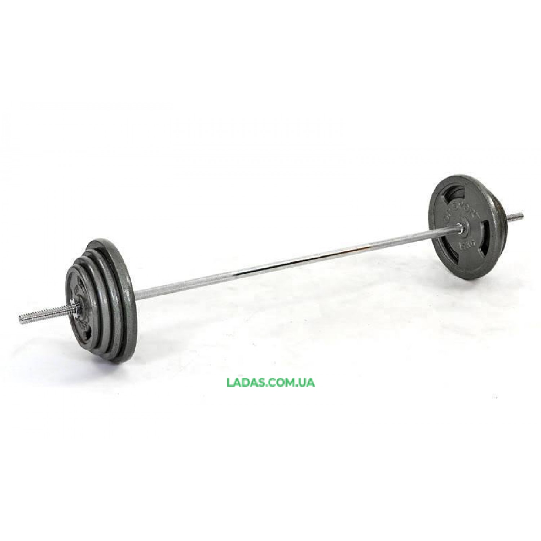 Штанга (стальные блины) 115кг TA-2431-115