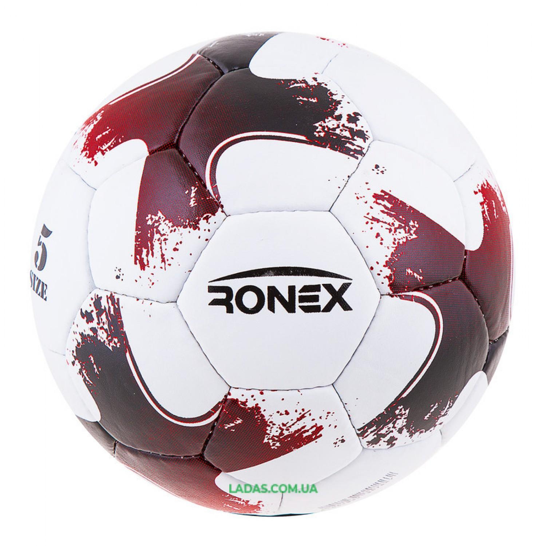 Мяч футбольный Grippy Ronex 2020-OMB красный