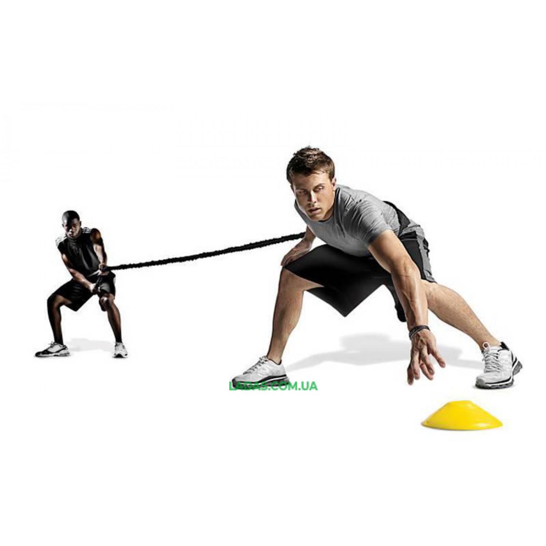 Поводок-амортизатор для силовых тренировок Random Direction Running FB-3018