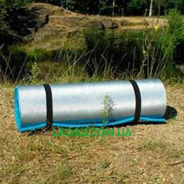 Коврик туристический 180х60х0.6см, фольга, EVA.