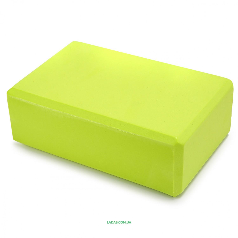Блок для йоги SP-Planeta (EVA 180гр, р-р 23x15,5x8см)