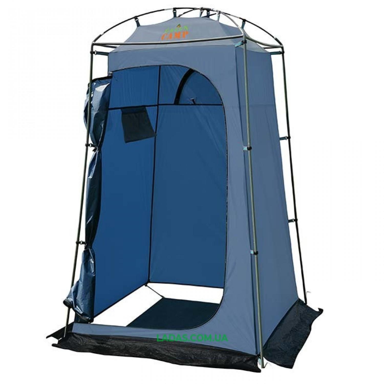 Палатка-душ Green Camp GC2897 (р-р 120х120х200 см,синий)