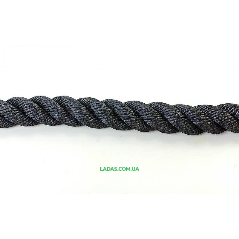 Канат для кроссфита COMBAT BATTLE ROPE (полипропилен, l-12м,d-3,8см)