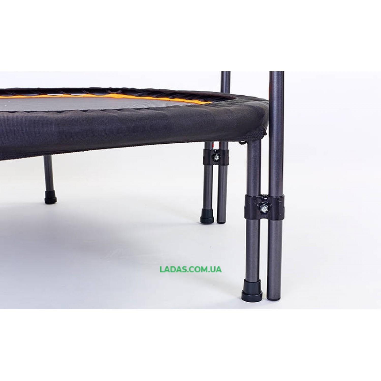 Фитнес-батут с двойной ручкой круглый 42in(металл , крепление - жгуты, d -107см)