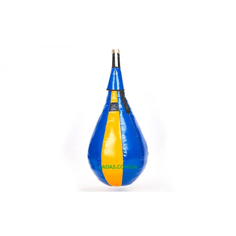 Груша набивная каплевидная подвесная Sportko (d-45см,l-60см, вес-10кг))
