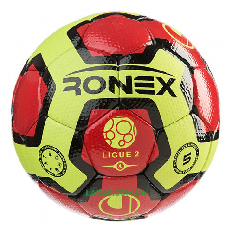 Мяч футбольный Cordly Dimple Ronex (UHL) (сшит вручную)
