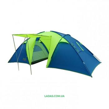 Шестиместная двухкомнатная палатка Green Camp 1002