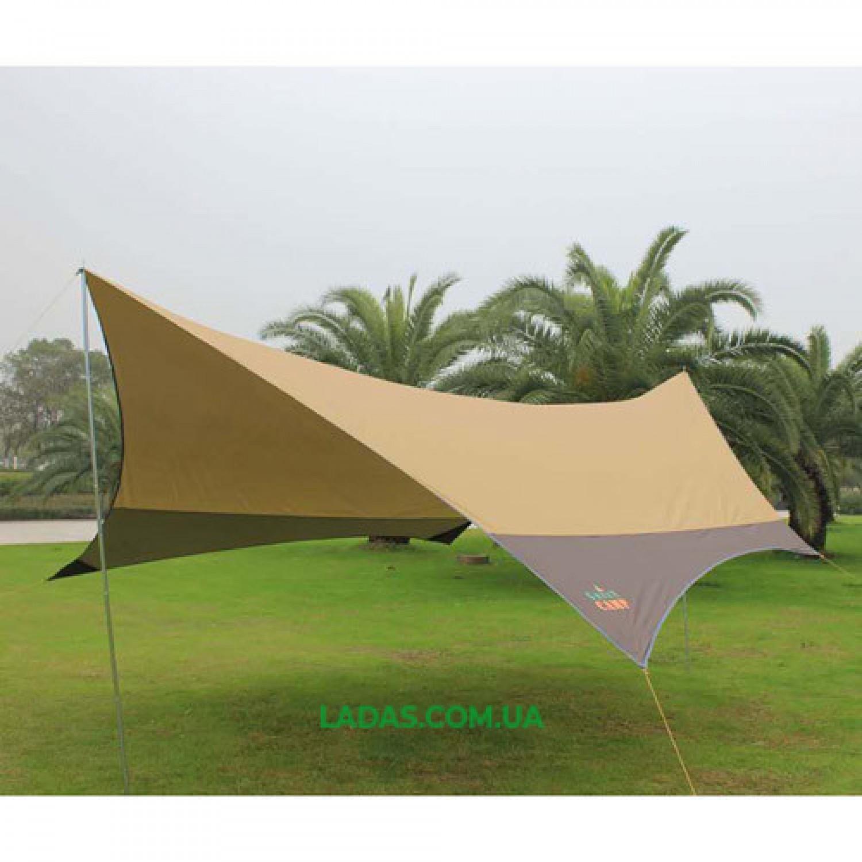 Тент GreenCamp GC0886Y коричневый