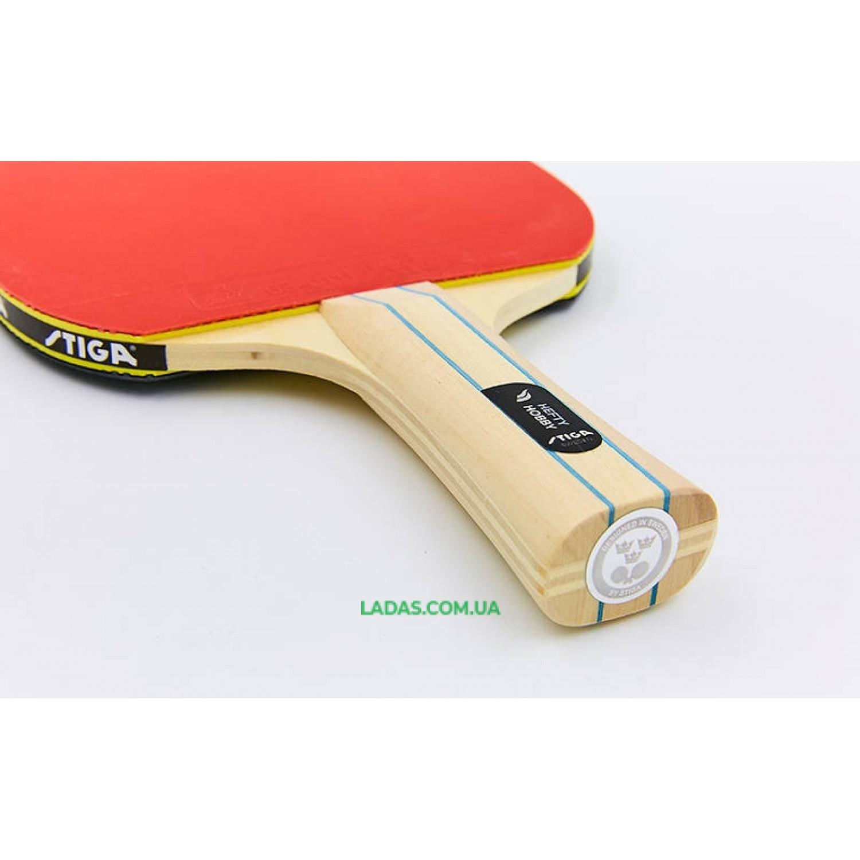 Ракетка для настольного тенниса 1 штука STIGA HEAFTY HOBBY Реплика