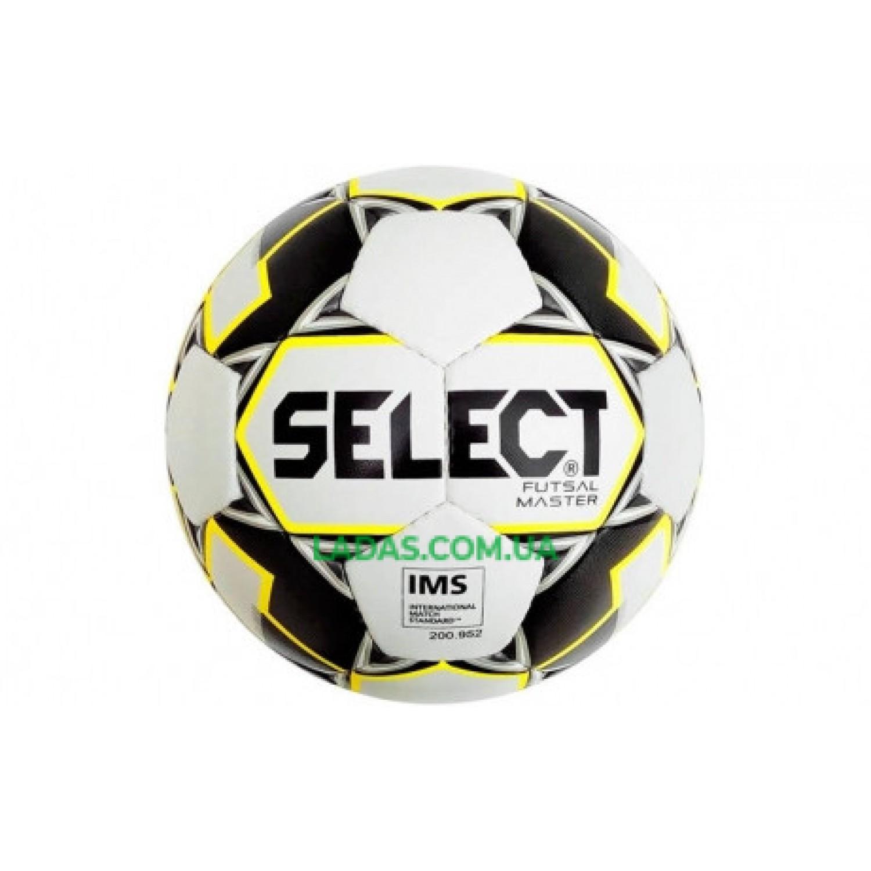 Мяч футзальный №4 SELECT FUTSAL MASTER (бело-черный)
