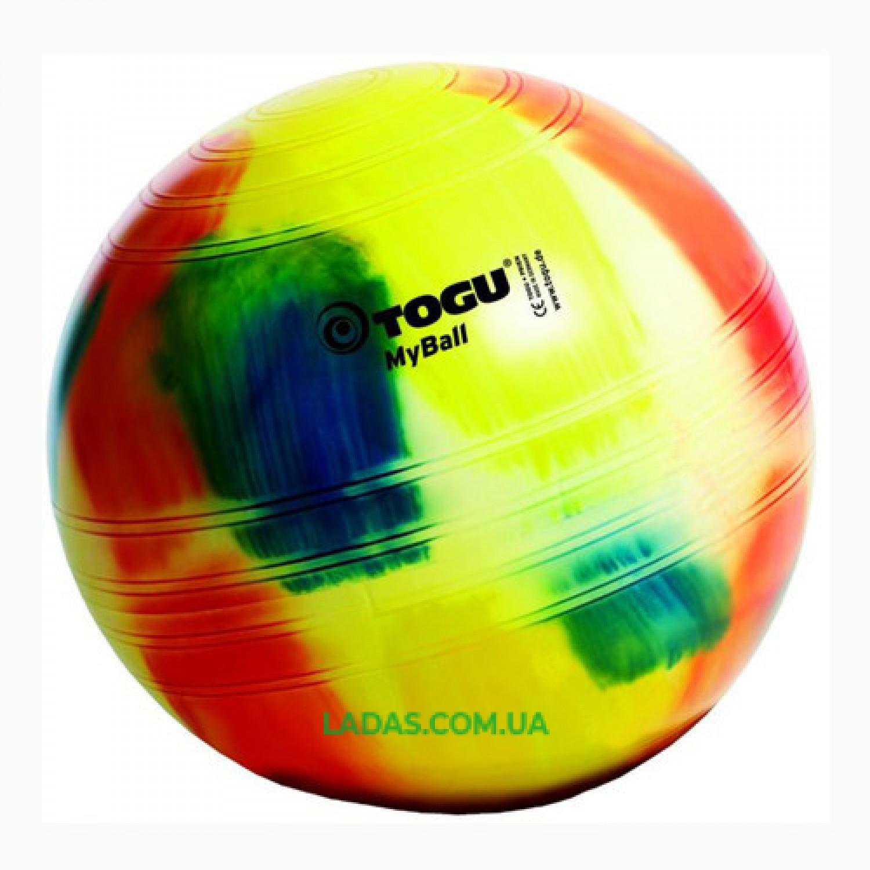 Мяч фитнес Togu 55 см, MyBall, разноцветный (Marble)