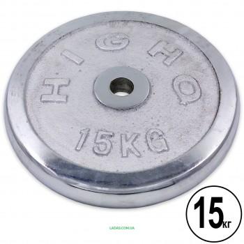 Блины (диски) хромированные d-30мм (1шт*15 кг)