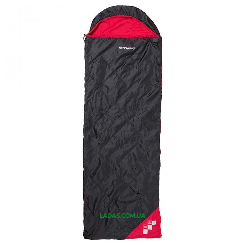 Спальный мешок с капюшоном и подушкой REDCAMP RC484/2-13BR (PL,150 на м2, р-р 210*75)