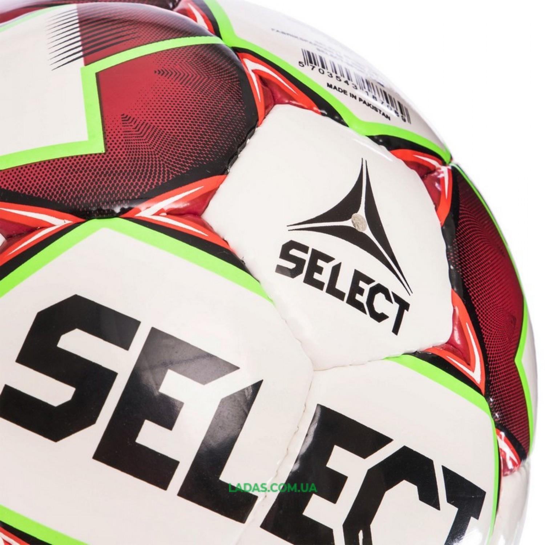 Мяч футзальный №4 SELECT FUTSAL SAMBA IMS NEW (FPUS 1200, бело-красный)