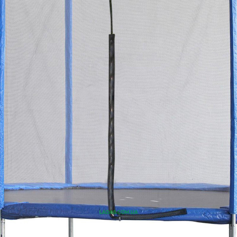 Батут с защитной сеткой (металл, PVC, PE, d-12ft (366см) )