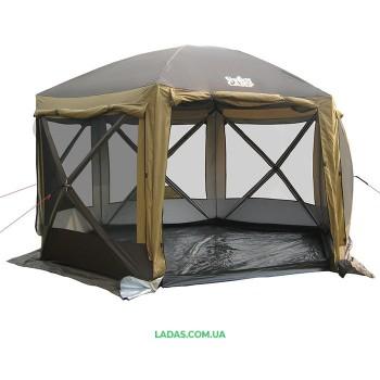 Шатер-палатка GreenCamp 2905 (360*360*235cм)