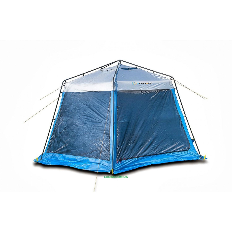 Тент Mimir шестиугольный Х-2013W (москитная сетка+шторы)