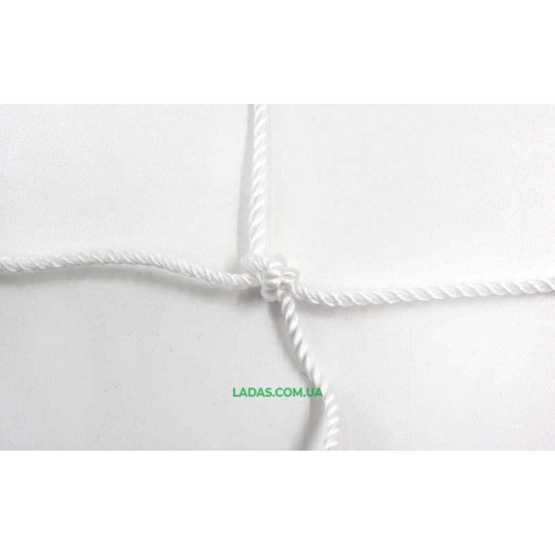 Сетка для волейбола Эконом10 UR (PP 2,5мм, р-р 9,5x1м, ячейка 10x10см, шнур натяжения)