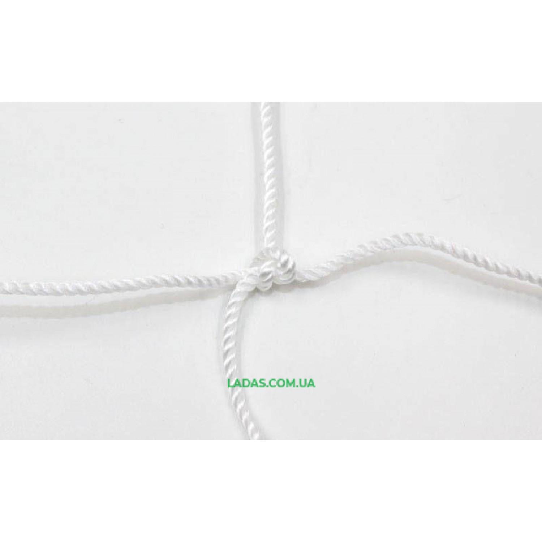Сетка для волейбола Эконом15 UR (PP 2,5мм, р-р 9x0,9м, ячейка 15x15см, с метал. тросом)