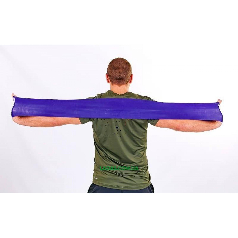 Лента сопротивления LOOP BANDS PS фиолетовый (латекс, р-р 104см x 15см x 0,65мм)