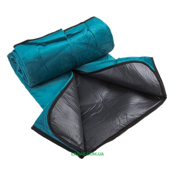 Коврик туристический для пикника (р-р 140х160 см, велюр,ПВХ)