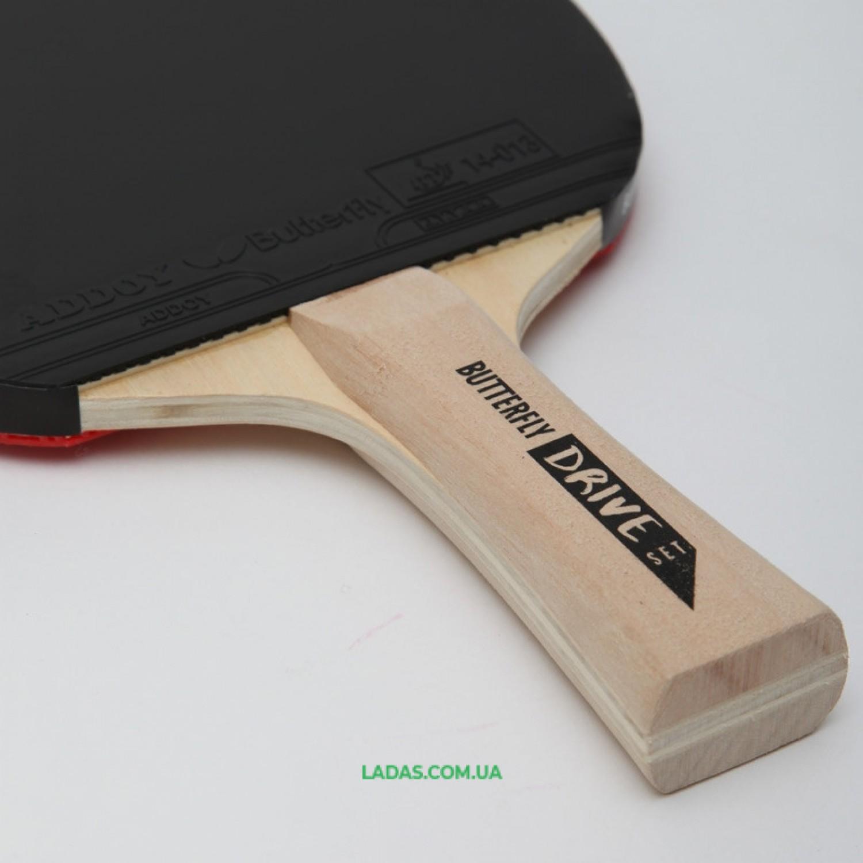 Набор для настольного тенниса 2 ракетки, 3 мяча BUTTERFLY DRIVE SET Реплика