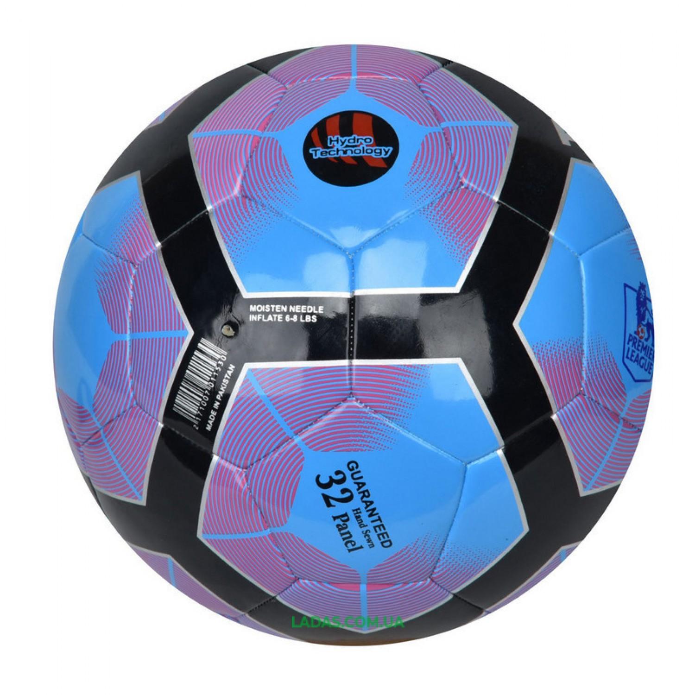 Мяч футбольный №5 PU HYDRO TECNOLOGY SHINE PREMIER LEAGUE (сшит вручную)