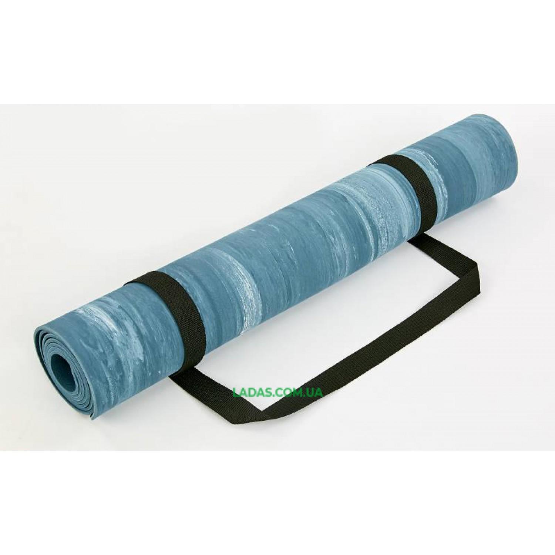 Коврик для йоги PU 4мм Record (1,83мx0,68мx4мм)