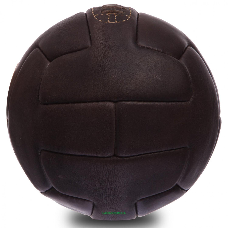 Мяч футбольный №5 Кожа VINTAG F-0249 (№5, 5сл.,сшит вручную)