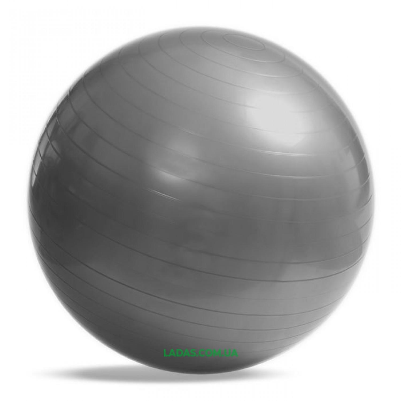 Мяч для фитнеса (фитбол) гладкий 65см (PVC,800г, цвета в ассортименте, ABS)