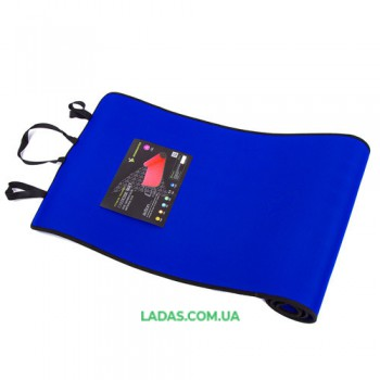 Йогамат, коврик для фитнеса, EVA, IronMaster 180x60x0.6см, синий