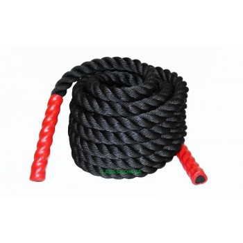 Канат для кроссфита COMBAT BATTLE ROPE (полипропилен, l-6м,d-3,8см)