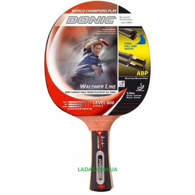Ракетка для настольного тенниса Donic Waldner Line 600 Реплика
