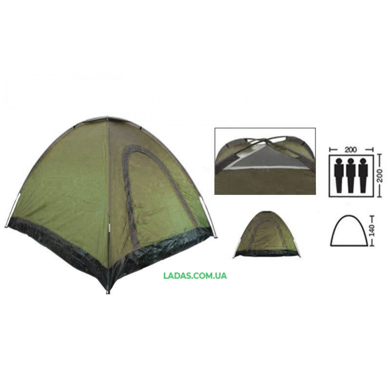 Палатка-автомат трехместная SY-A-35-O